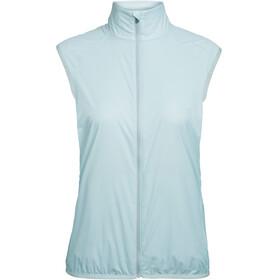 Icebreaker Rush Folds Vest Women dew/embossed